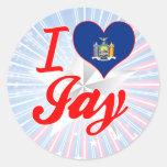 I Love Jay, New York Sticker