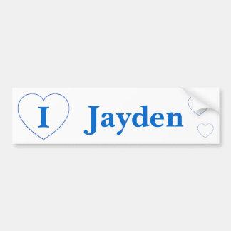 I Love Jayden (BpS) Bumper Sticker