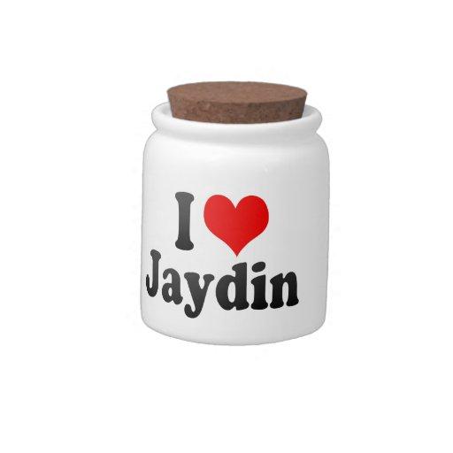 I love Jaydin Candy Jars