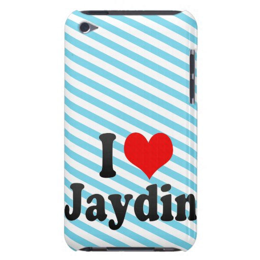 I love Jaydin Barely There iPod Covers