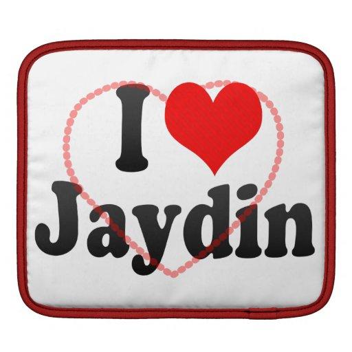 I love Jaydin iPad Sleeves