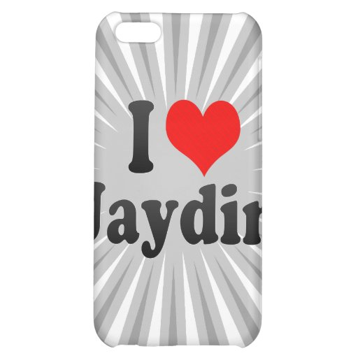 I love Jaydin Cover For iPhone 5C