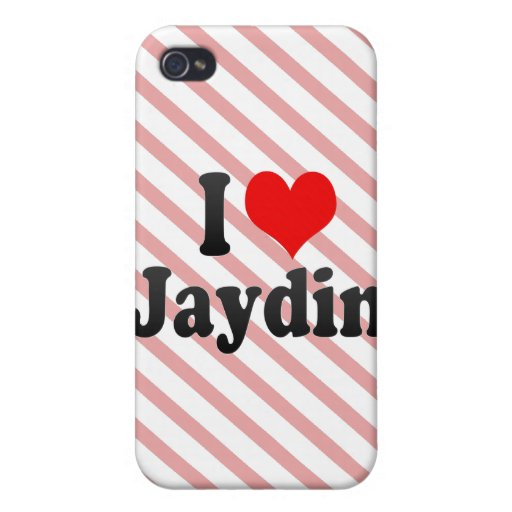 I love Jaydin Case For iPhone 4