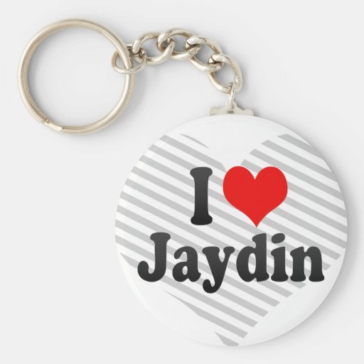 I love Jaydin Keychains
