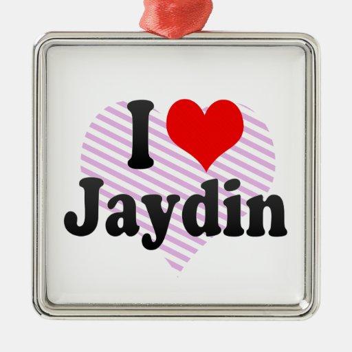 I love Jaydin Ornaments
