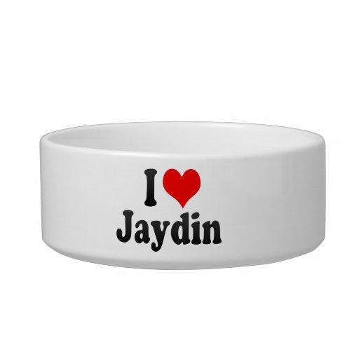 I love Jaydin Cat Food Bowl