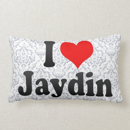 I love Jaydin Throw Pillows