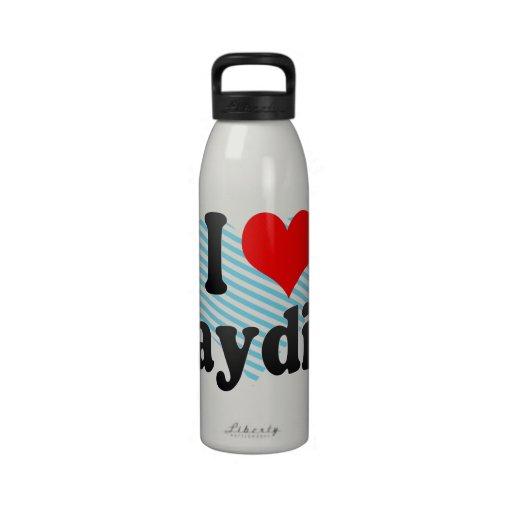 I love Jaydin Reusable Water Bottles