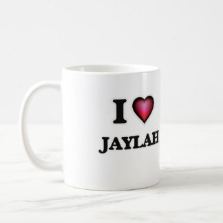 I Love Jaylah Coffee Mug