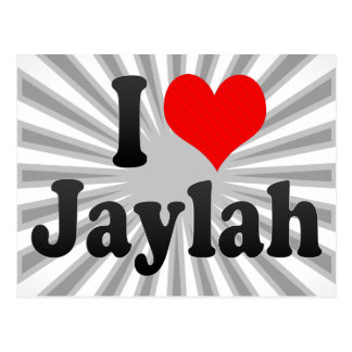 I love Jaylah Postcard