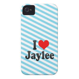 I love Jaylee iPhone 4 Case