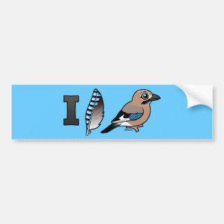 I Love Jays Bumper Sticker
