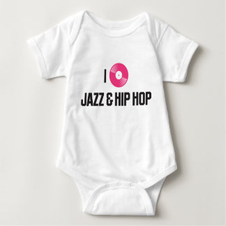 I love jazz and Hiphop Baby Bodysuit