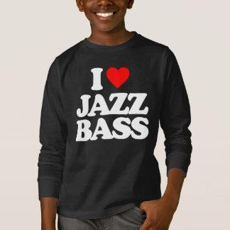 I LOVE JAZZ BASS T-Shirt