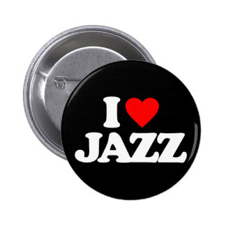 I LOVE JAZZ BUTTON