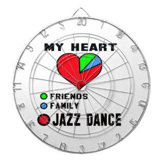 I love Jazz dance. Dartboard