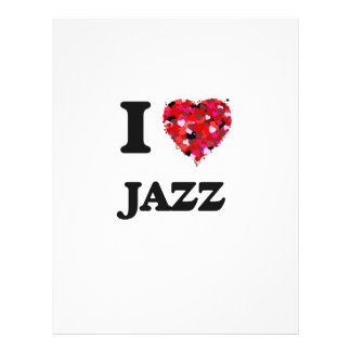 "I Love Jazz 8.5"" X 11"" Flyer"