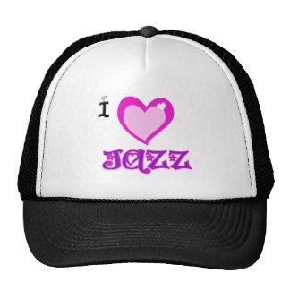 I LOVE Jazz Trucker Hat