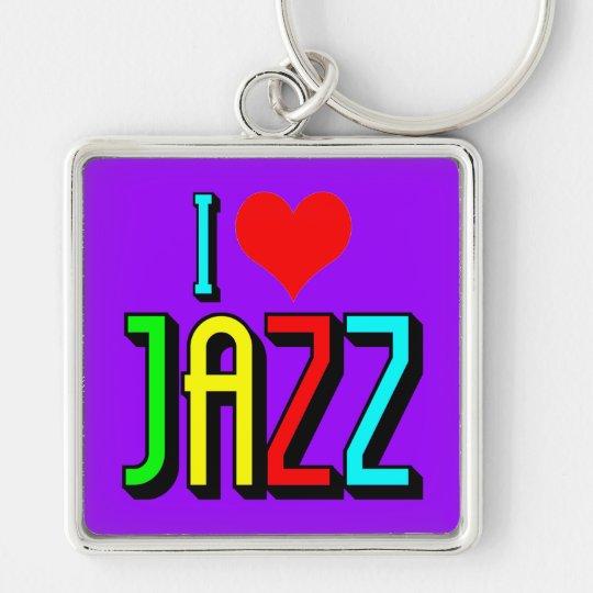 I love Jazz Keychain