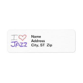 I Love Jazz Label