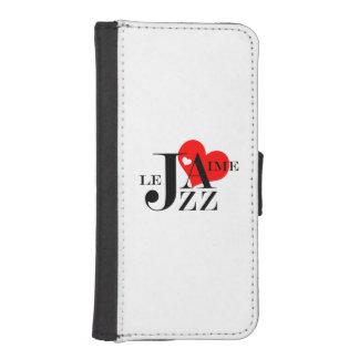 I Love JAZZ iPhone 5 Wallet Cases