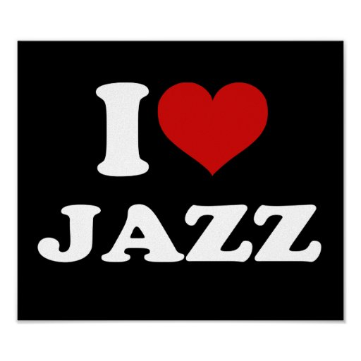 I Love Jazz Poster