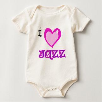 I LOVE Jazz Rompers