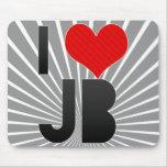 I Love JB Mouse Pads