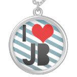 I Love JB Pendants