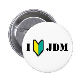 I love JDM 2 Inch Round Button