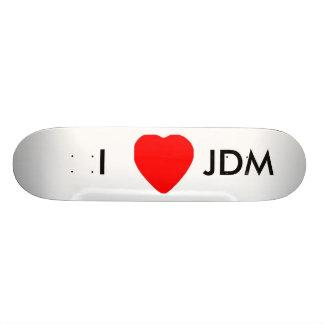 I Love JDM Custom Skate Board
