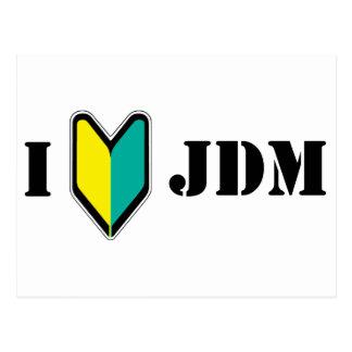 I love JDM Post Cards