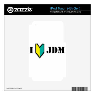 I love JDM iPod Touch 4G Decals
