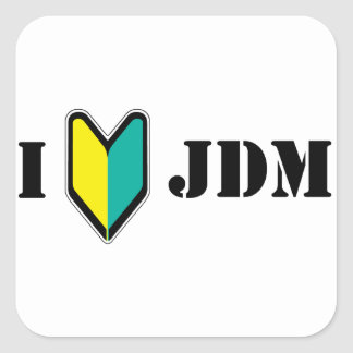 I love JDM Sticker