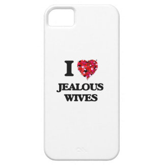 I Love Jealous Wives iPhone 5 Cases