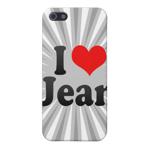 I love Jean Covers For iPhone 5