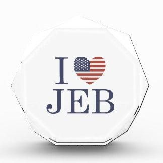 I Love Jeb Acrylic Award