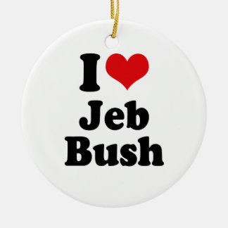 I LOVE JEB BUSH.png Ornaments