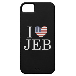 I Love Jeb iPhone SE/5/5s Case