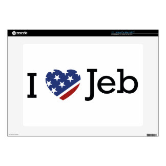 I Love Jeb Skins For Laptops