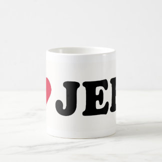 I LOVE JEFF COFFEE MUG