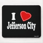 I Love Jefferson City Mousepad
