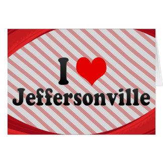 I Love Jeffersonville, United States Cards