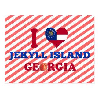 I Love Jekyll Island, Georgia Postcard