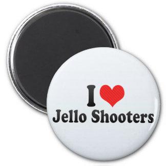 I Love Jello Shooters Refrigerator Magnet