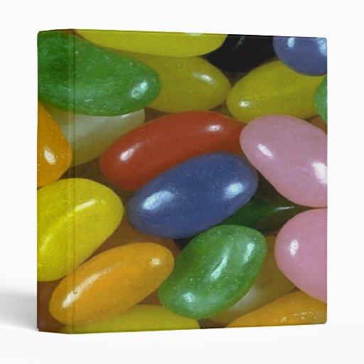 I Love Jelly Beans Binder