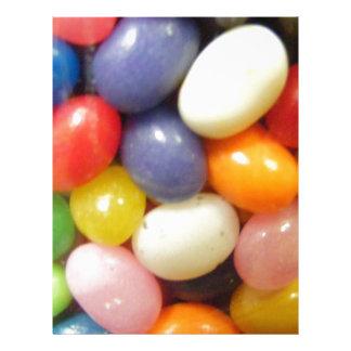 I love Jelly Beans Letterhead