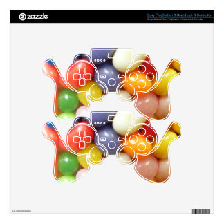 I love Jelly Beans Skin For PS3 Controller