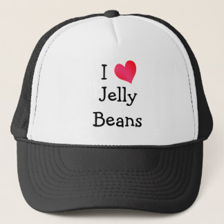 I Love Jelly Beans Trucker Hat