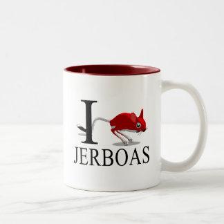 I Love Jerboas Mugs